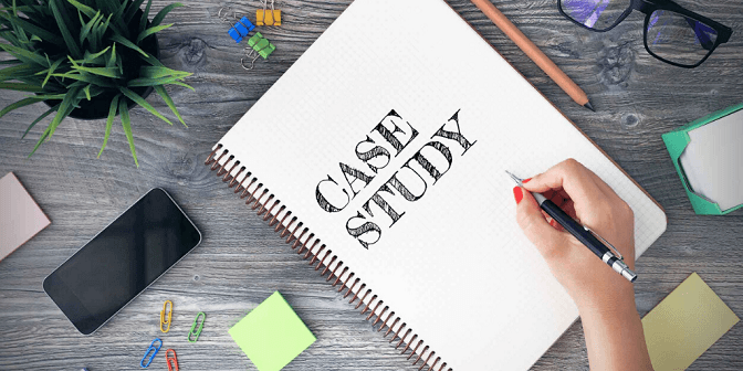 Feature case studies from your industry