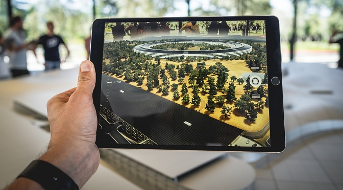 Augmented reality for digital engagement