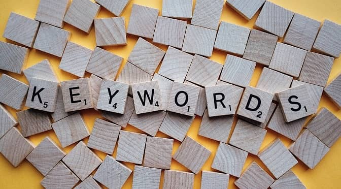 Keyword research for improving user experience